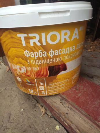 Фасадная латексная краска TRIORA 10 л