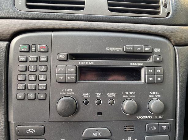 Radio Volvo S60 V70 S80 XC90 HU-801