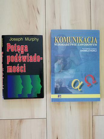 """""""Komunikacja w doradztwie zawodowym"""", """"Potęga podświadomości""""-książki"""