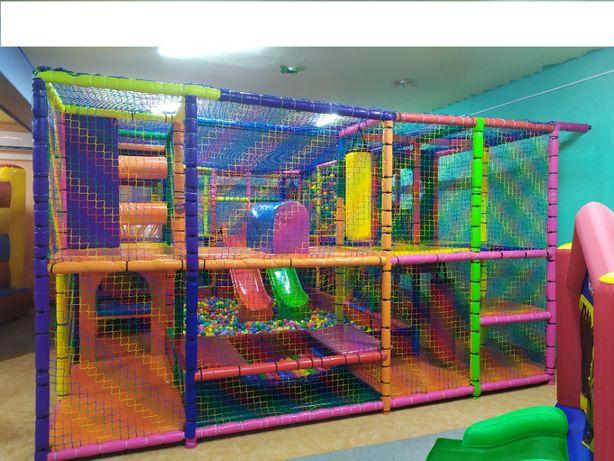 Wyposażenie sali zabaw Małpi gaj