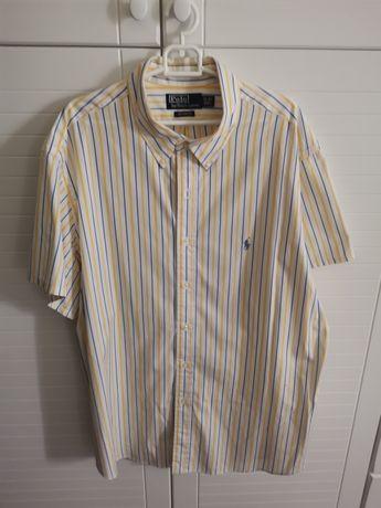 Koszulka męska Firmowa z krótkim rękaw stan idealny