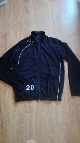 Czarna bluza sportowa puma treningowa m 38 trening oryginalna markowa