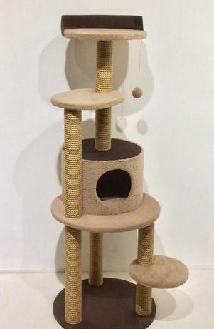 Домик - когтеточка для кота