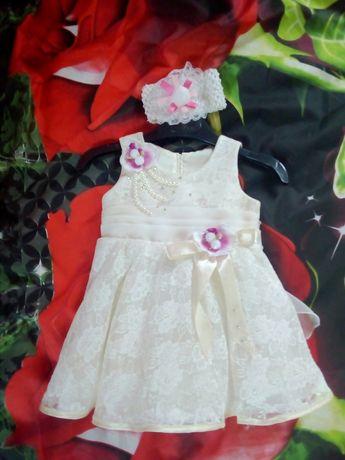 Платье на 1 годік