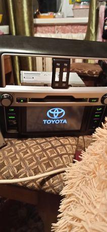 Обменяю магнитолу  Toyota Prado/Lexus