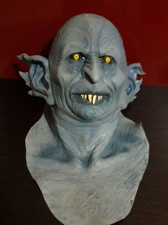 Máscara Alien Louco-Halloween - Carnaval