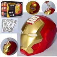 Игрушка Копилка - сейф с кодовым замком в виде супергероя Железный чел
