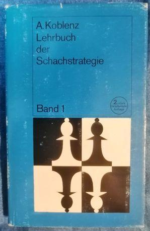 Szachy Książka Szachowa Koblentz Lehrbuch der Schachstrategie band 1