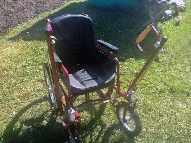 Инвалидная дорожная (рычажная) коляска ДККРС-3-01-48