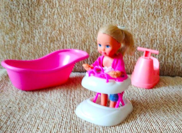 Мебель для Барби, детская, набор с куклой