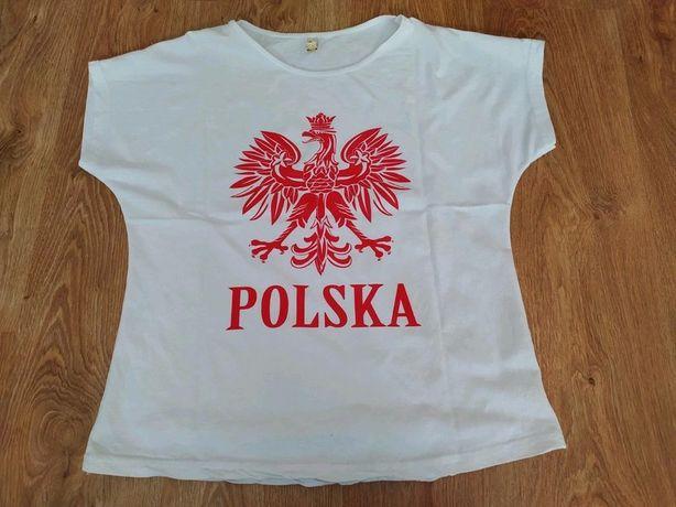 Bluzka Polska dla kibica 40 L 38 M