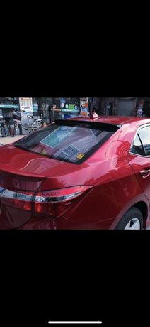 Спойлер на заднее стекло Toyota corolla 2013-2017 e170