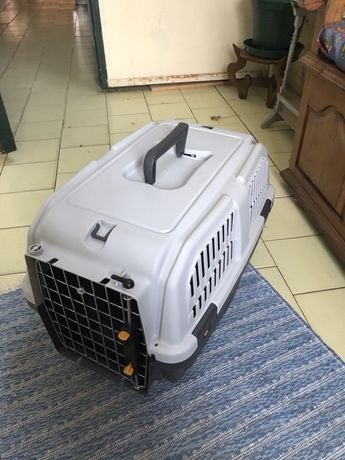 Caixa transporte de cao ou gato medio porte
