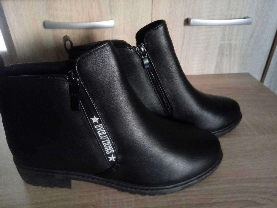 Nowe buty kozaki czarne damskie Chrzanów - image 1