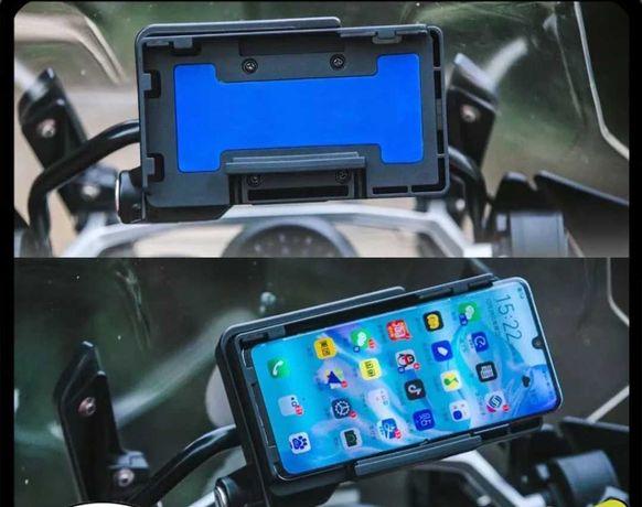 BMW gs Suporte p/ telemóvel carregamento Wireless/sem fios