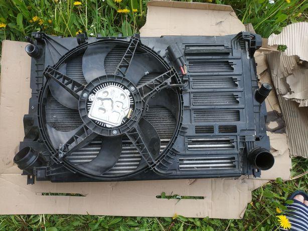 Касета радиаторів з вентилятором до Mini BMW  f55 f56 1,5 turbo бензин