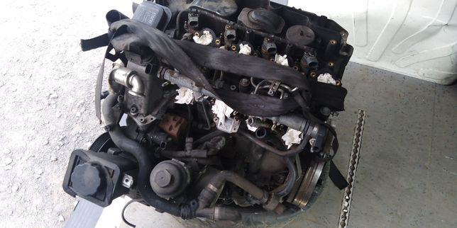 Silnik BMW M47 2.0 163KM uszkodzony