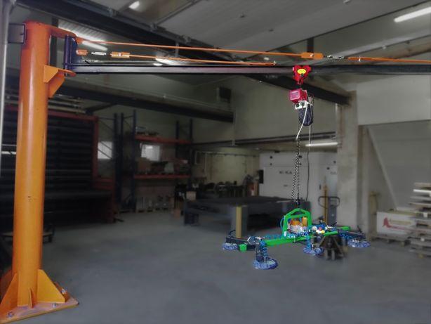 Żuraw słupowy obrotowy 0,5t z UDT - DS System