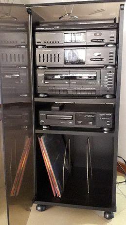 Aparelhagem Grundig Com Gira Discos, Cassetes, Rádio e CD
