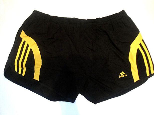 - Шорты Adidas черные желтые