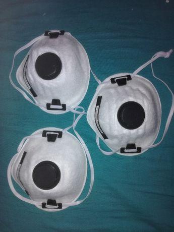 Maski przeciwpyłowe FFP2 z zaworem wydechowym-okazja