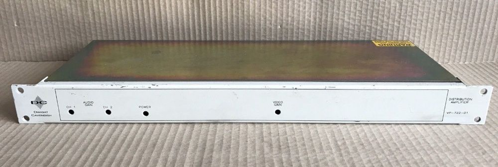 Vendo Dwight Cavendish VP-722-01 Amplificador De Distribuição-Montagem