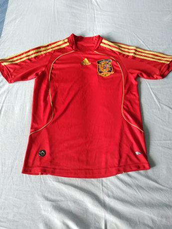 Koszulka reprezentacji Hiszpanii 2008 Adidas
