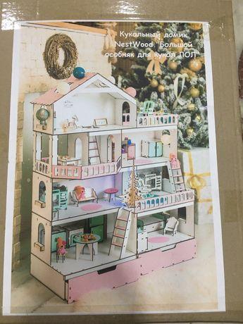 Кукольный Дом большой особняк