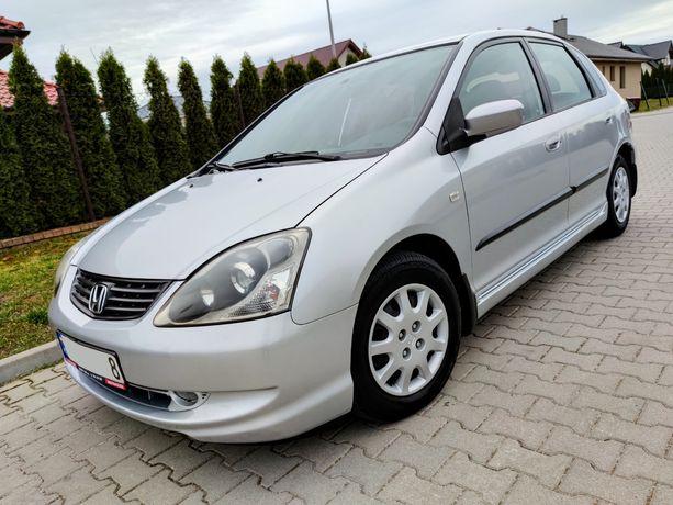 Honda Civic VII LIFT 1.4 90KM PL Salon, 1-Właściciel, Klima, 5-drzwi