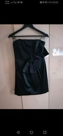 Sukienka Mała czarna kokarda