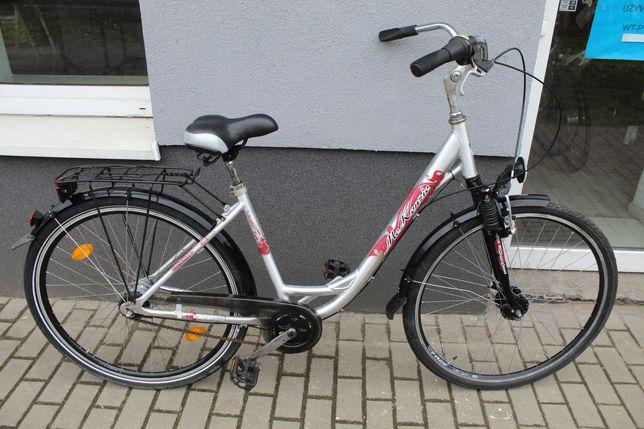 """Rower miejski McKEZNIZE CITY, 47 cm, 28"""", Shimano NEXUS 7, Alu, Amor"""