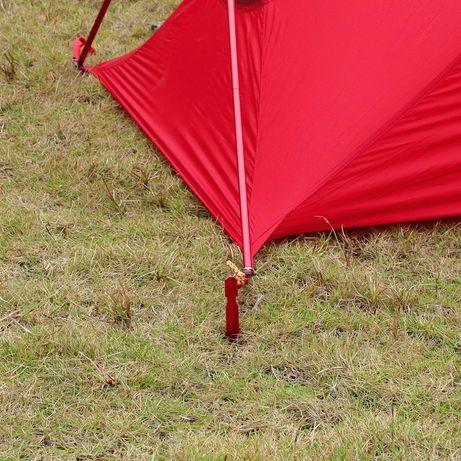 Алюминиевые колышки для палаткиY-сечения+Натяжители