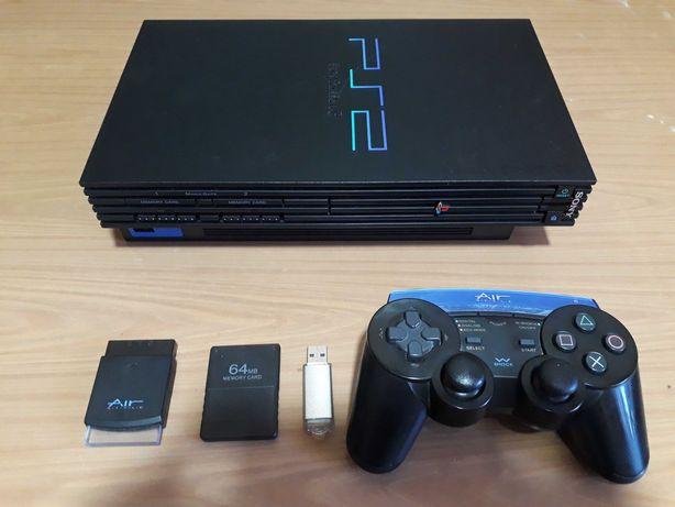 PS 2 Fat Прошитая Free MC Boot 32 GB