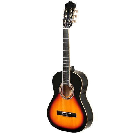 Gitara klasyczna Ever Play EV-126 4/4 podpalana