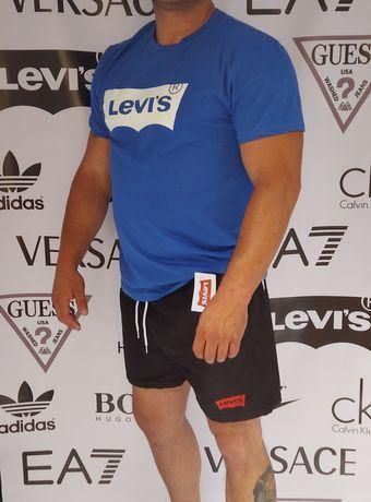 Koszulki i spodenki męskie Levis Tommy Hilfiger