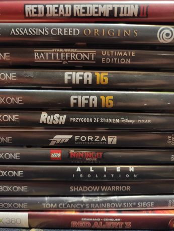 Gry Gra Xbox One froza rainbow halo fallout tekken origins rdr2