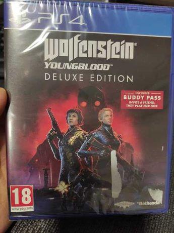 Wolfenstein Youngblood: Deluxe Edition Ps4 NOVO SELADO troca