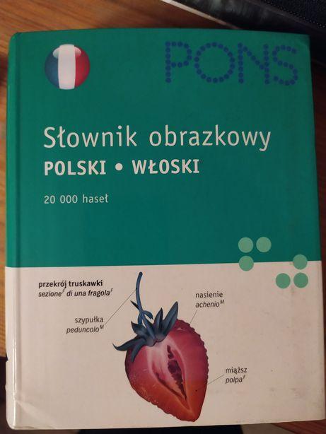 Słownik obrazkowy polsko- włoski PONS