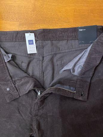 Вельветові брюки  Gap 33/32