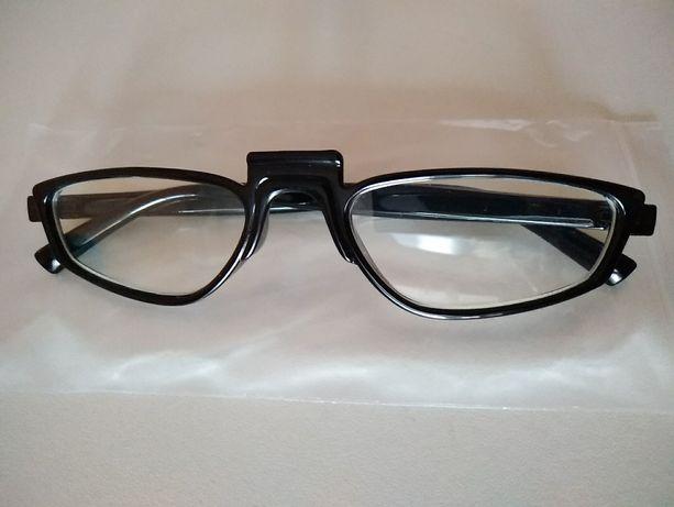 имиджевые очки для имиджа стиля нулевки без диоптрий черная оправа
