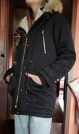 Куртка парка женская зимняя Pull&Bear 46 разм
