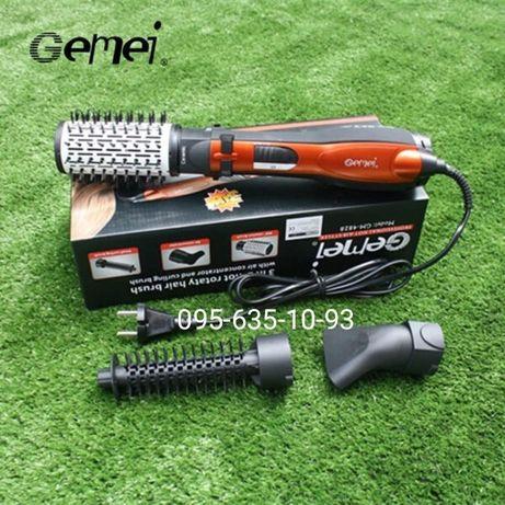 Стайлер c насадками Gemei GM-4828 с вращающейся насадкой