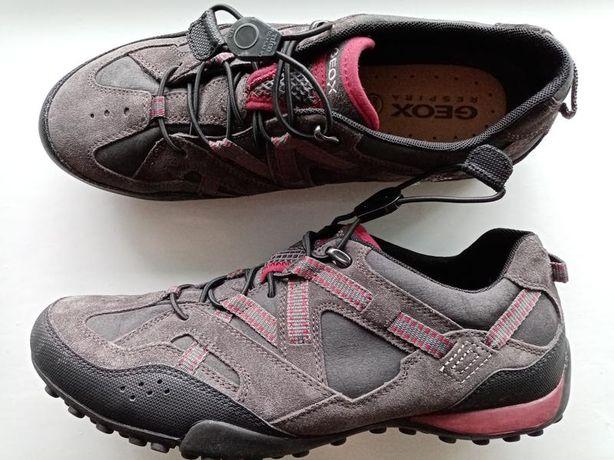 GEOX кожаные кроссовки ботинки мужские туфли оригинал