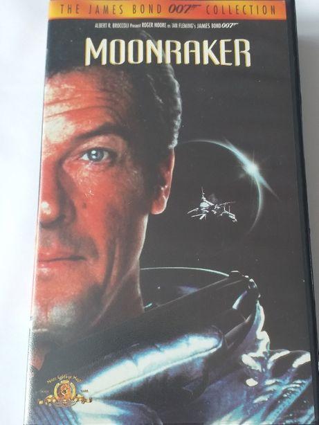 Moonraker James Bond kaseta VHS