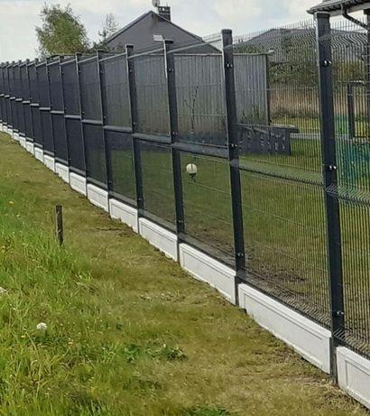 Ogrodzenia panelowe panel ogrodzeniowy z montażem panele systemowe