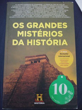 Os grandes mistérios da história