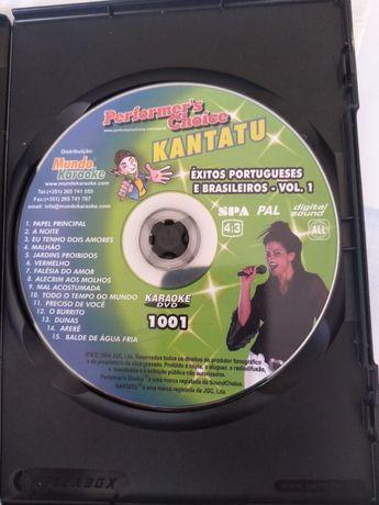 DVD karaoke em português
