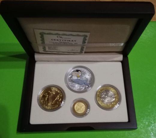 monety kolekcjonerskie z Bolkiem i Lolkiem