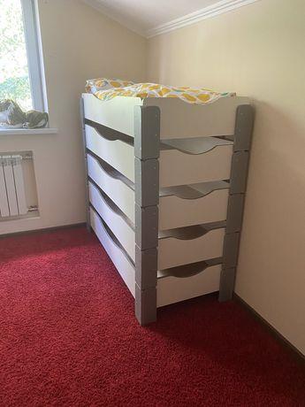Детская кровать кровати кроватка кроватки Монтессори штабелируемые