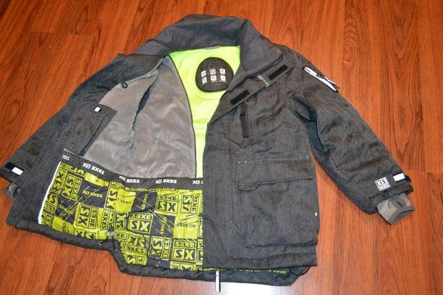 Отличная лыжная куртка рост 128 см